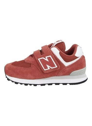 New Balance New Balance YV574EC Çocuk Günlük Spor Ayakkabı Kırmızı